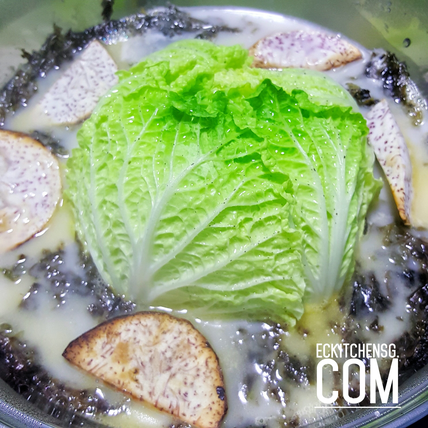 Easy fish head steamboat style hotpot eckitchensg for How long to air fry fish