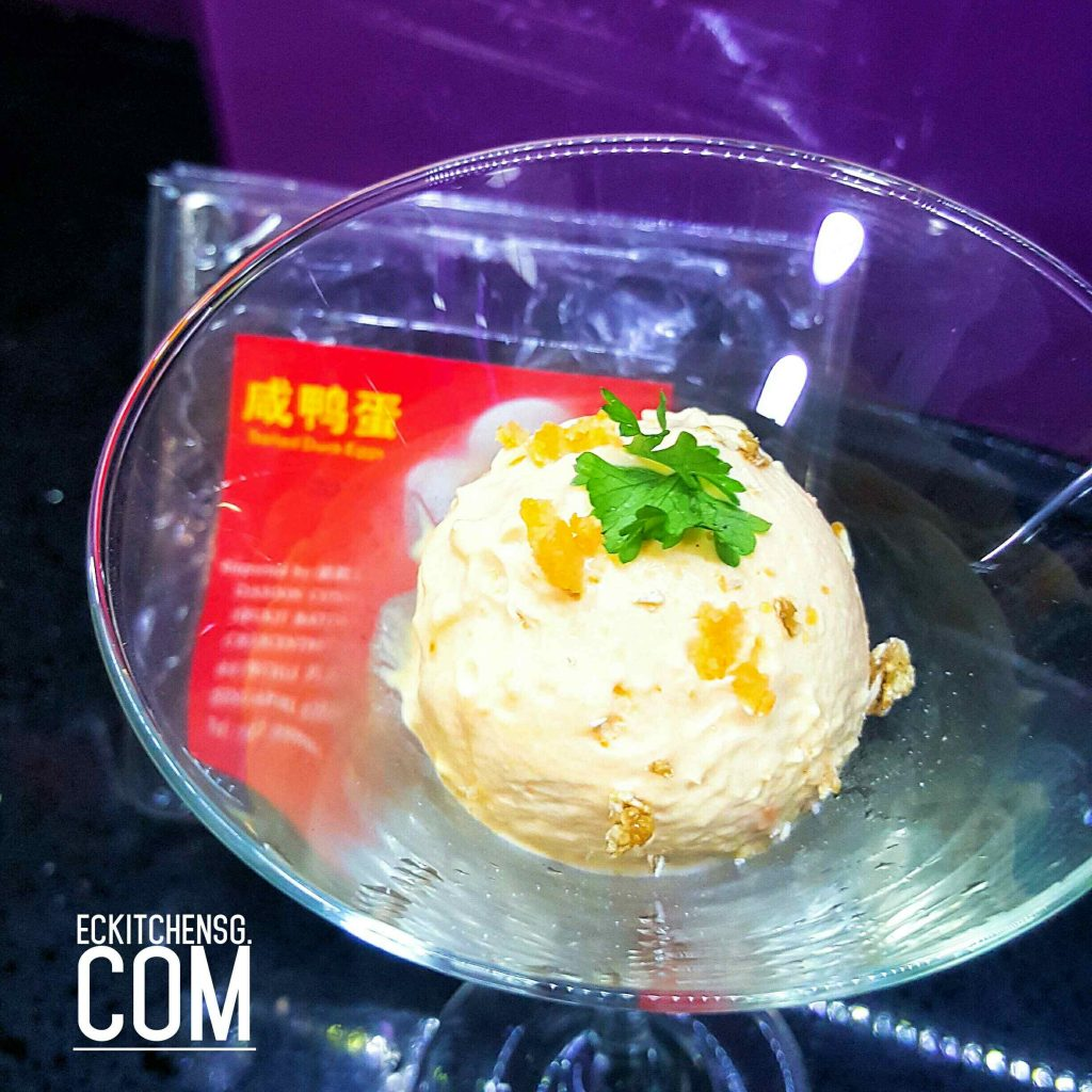 No-churn Salted Egg Yolk Ice Cream