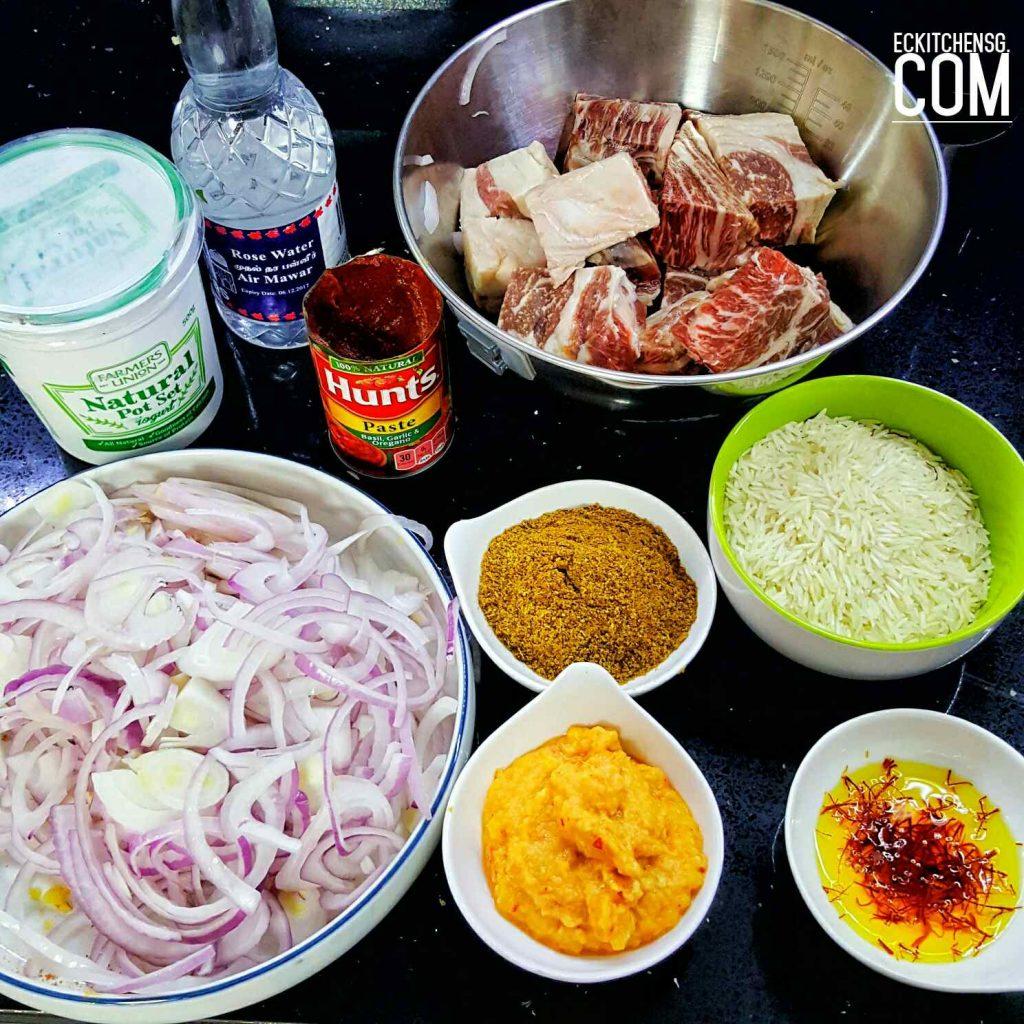 Eckitchensg's Nasi Biryani