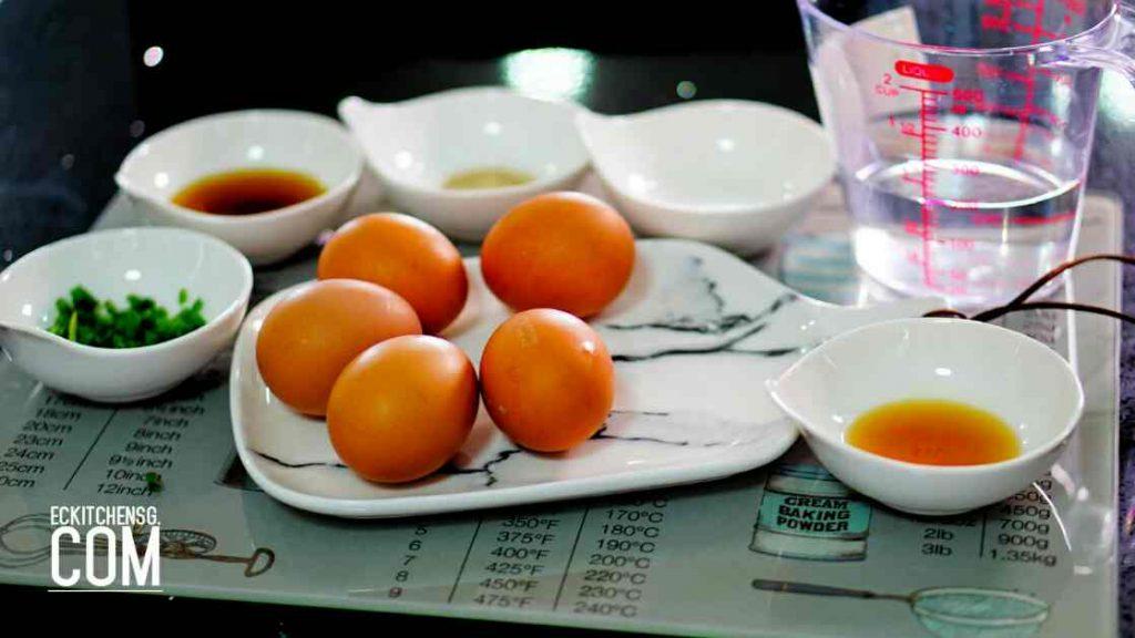 Light, Fluffy & Soupy Korean Steamed Egg - Gyeran Jjim (계란찜)