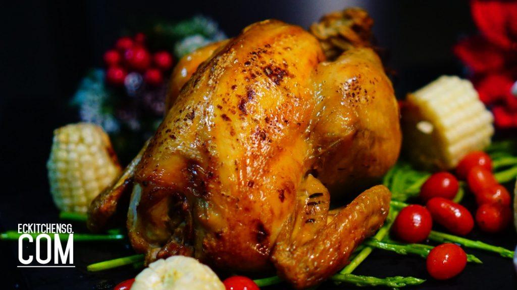 Roast Chicken with Crispy Skin