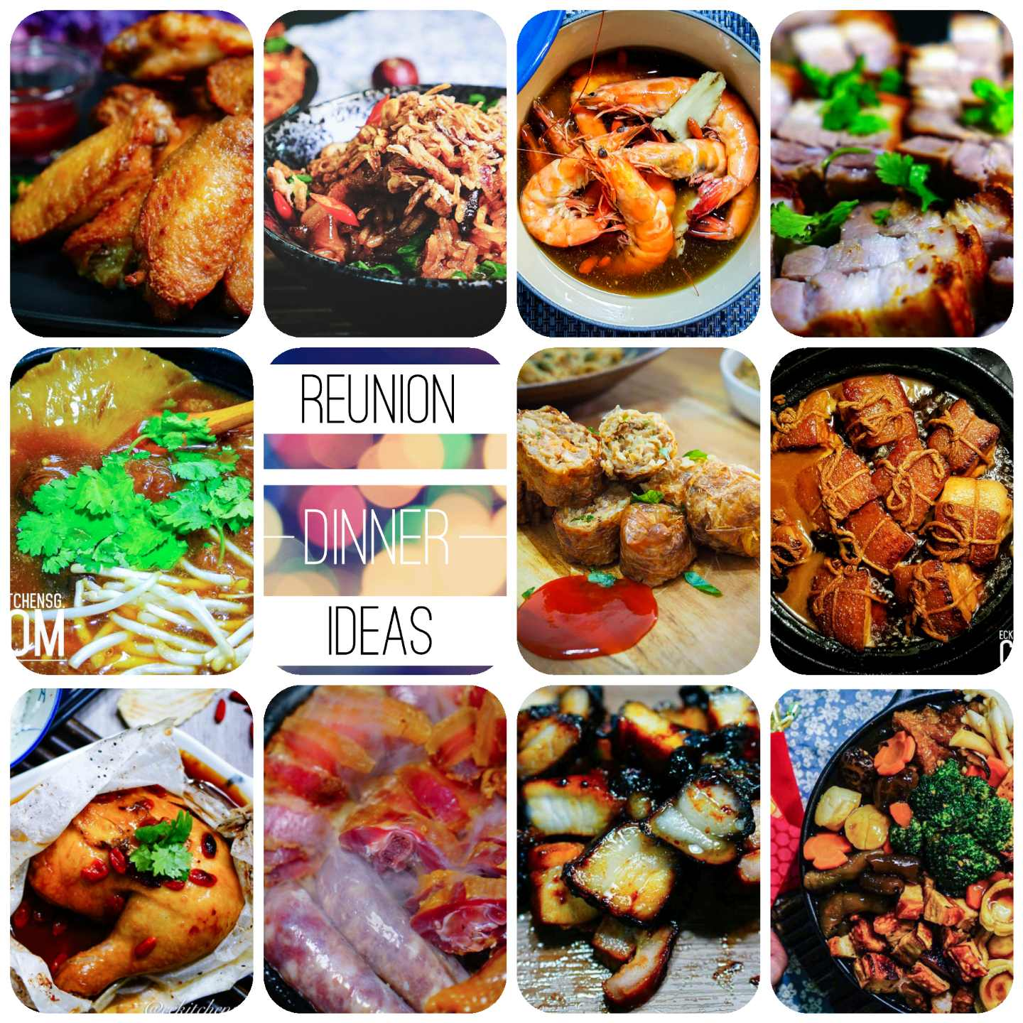 Chinese New Year Reunion Dinner Ideas